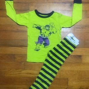 Toddler boy gap marvel pajama set